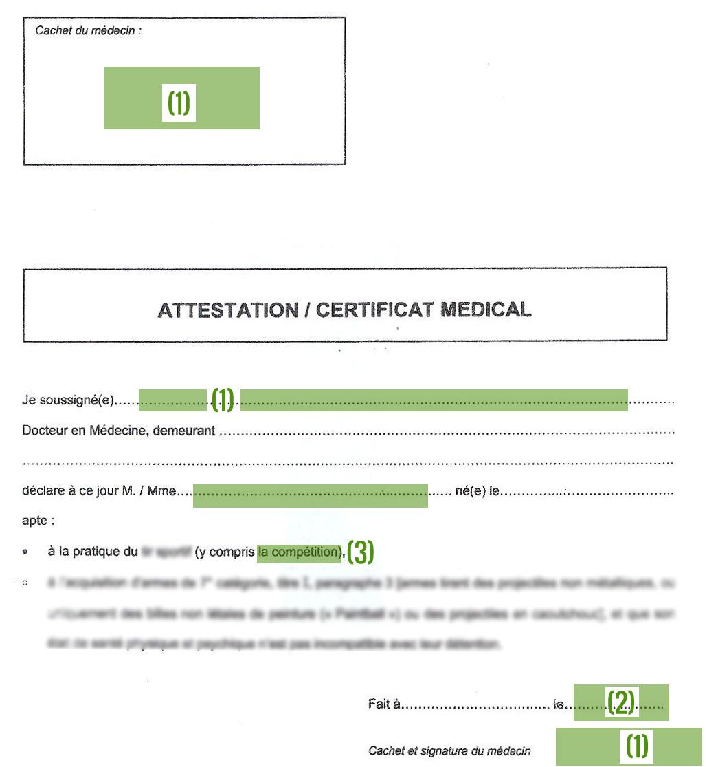 Relativ Vrai ou faux certificat médical : les risques OY68