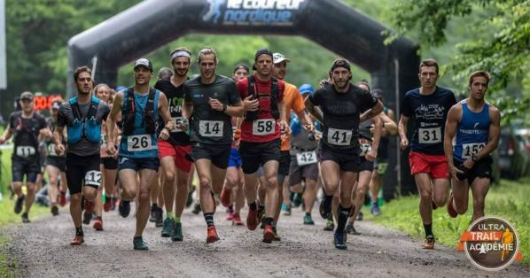 Départ Ultra trail Academie 2018